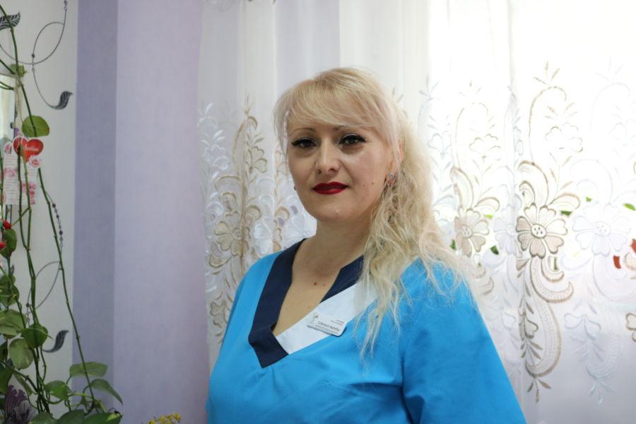 Asistentă medicală superioară - A. Cebotari