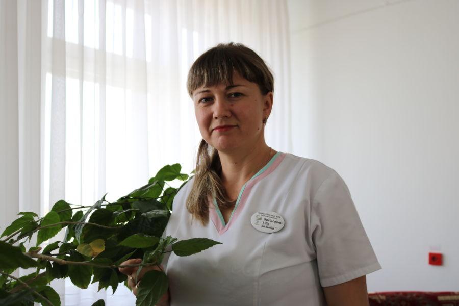 Asistentă medicală superioară - L. Sprinceanu