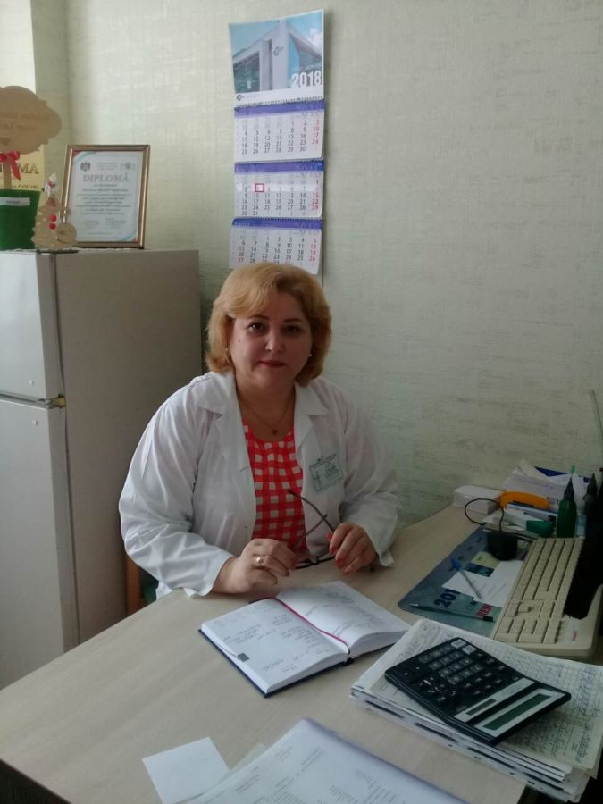 Asistentă medicală superioară – V. PASCARI